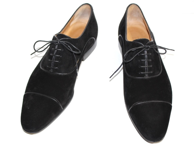 Berluti ベルルッティ 革靴 ビジネスシューズ メンズ8  ブラック スエード (2148103315718) 【432】