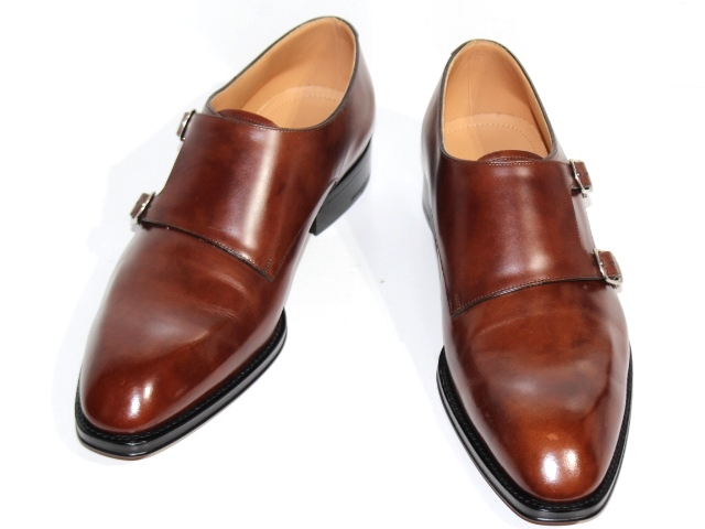 LOUIS VUITTON ルイ・ヴィトン 革靴 ビジネスシューズ メンズ6  ブラウン レザー 2019年 (2148103311772) 【432】