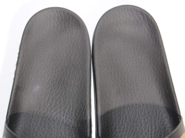 GUCCI グッチ サンダル メンズ8 約27cm ブラック ラバー 536814 (2148103335631) 【200】 image number 3