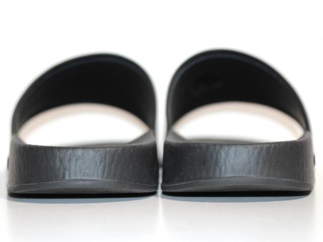 GUCCI グッチ サンダル メンズ6 約25cm ブラック PVC ラバー 519982 (2148103335365) 【200】 image number 4