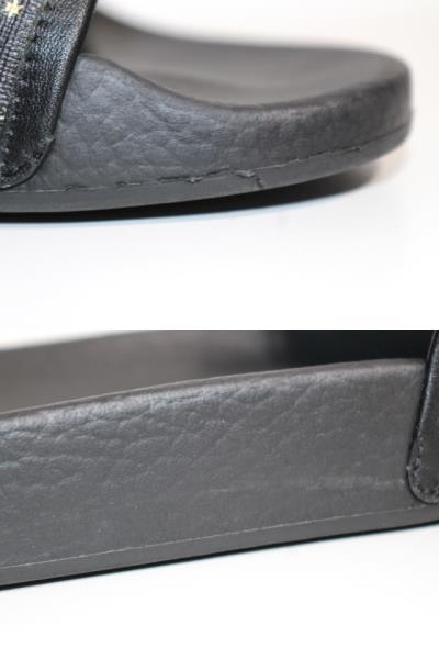 GUCCI グッチ サンダル メンズ6 約25cm ブラック PVC ラバー 519982 (2148103335365) 【200】 image number 5