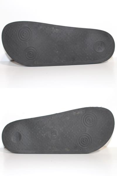 GUCCI グッチ サンダル メンズ6 約25cm ブラック PVC ラバー 519982 (2148103335365) 【200】 image number 7