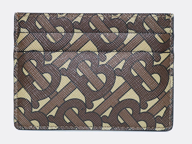 BURBERRY バーバリー カードケース  ブラウン PVC 8022909 【205】