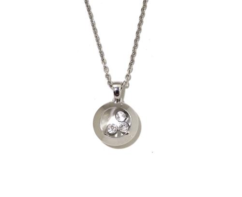 Chopard ショパール ネックレス ハッピーダイヤモンド ネックレス 79A018-1001 K18ホワイトゴールド ダイヤモンド 約8.4g 79A018-1001 【472】