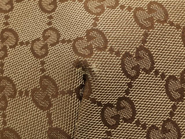 GUCCI グッチ ショルダーバッグ GGキャンバス ダークブラウン ベージュ キャンバス カーフ 【433】 image number 4