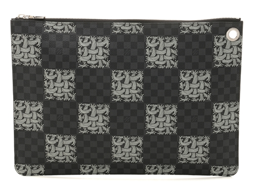 LOUIS VUITTON ルイヴィトン クラッチバッグ ポシェット ジュールGM ダミエ・グラフィット N61232【471】