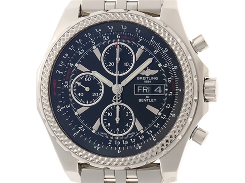 BREITLING ベントレー・GT A13362 オートマチック メンズ腕時計 ステンレススチール 【432】