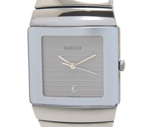 RADO ラドー 時計 ダイヤスター 152.0332.3 ステンレススチール シルバー文字盤 クォーツ 【431】