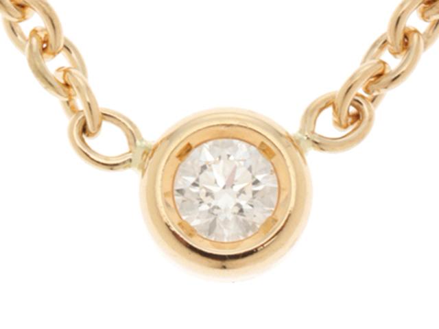 Dior ディオール ミミウィネックレス イエローゴールド ダイヤモンド 2.8g【430】