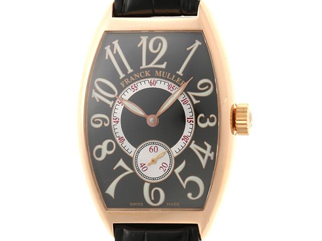 [日本限定品]FRANCK MULLER フランクミュラー 時計 トノーカーベックス・日本限定 2851 S6 J メンズ ピンクゴールド×社外革ベルト 自動巻き【432】2141300289196
