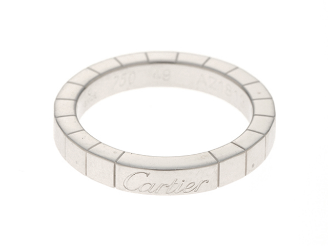 Cartier カルティエ ラニエール リング 指輪 ホワイトゴールド 49号 【437】