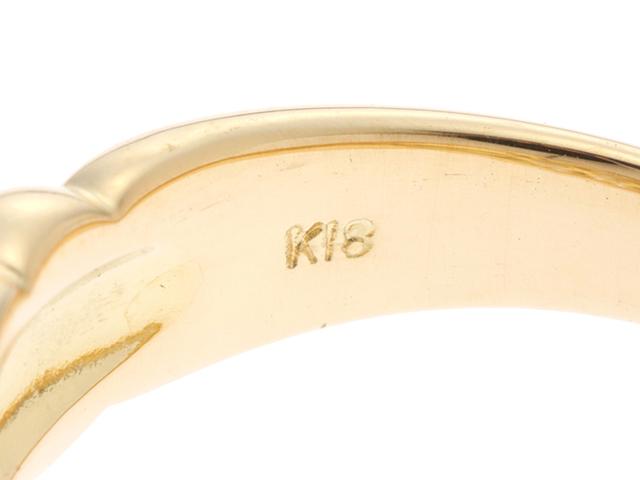 JEWELRY ノンブランドジュエリー リング イエローゴールド K18 ダイヤモンド0.65ct 11号【430】2143100333000 image number 2