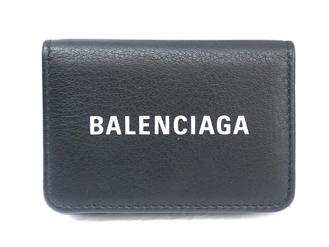 BALENCIAGA バレンシアガ エブリデイ ミニウォレット ブラック レザー 551921 【471】