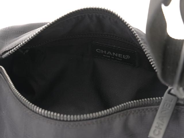シャネル CHANEL マトラッセ ニュートラベルライン ブラック ハンドバッグ ポーチ ワンショルダー バッグ 筒型【472】HF image number 4