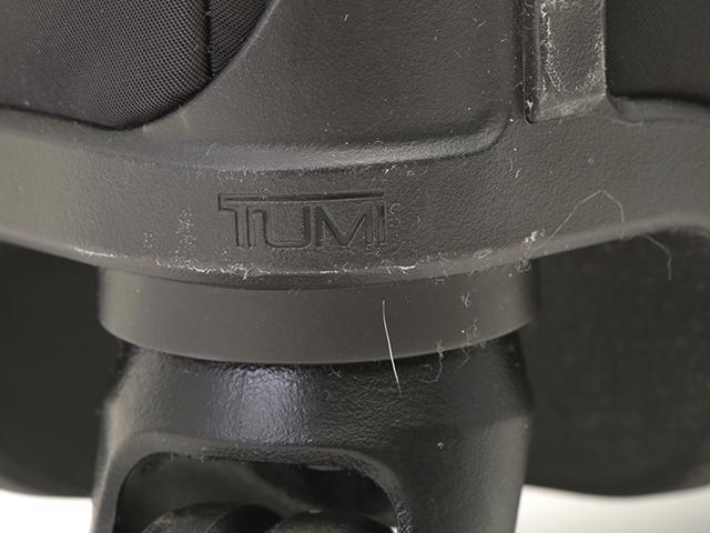 TUMI トゥミ インターナショナル・キャリーオン ブラック ゴールド金具 ナイロン キャリー【472】YI image number 9