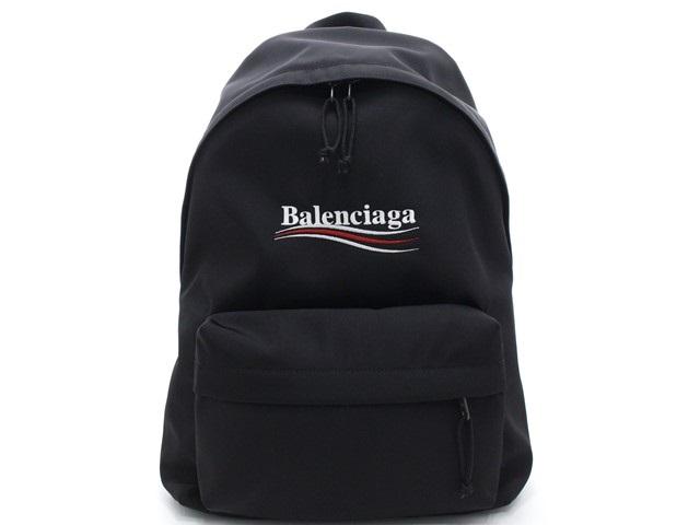 BALENCIAGA バレンシアガ エクスプローラー バックパック  リュックサック ナイロン ブラック 503221 9WB45 1000  【474】
