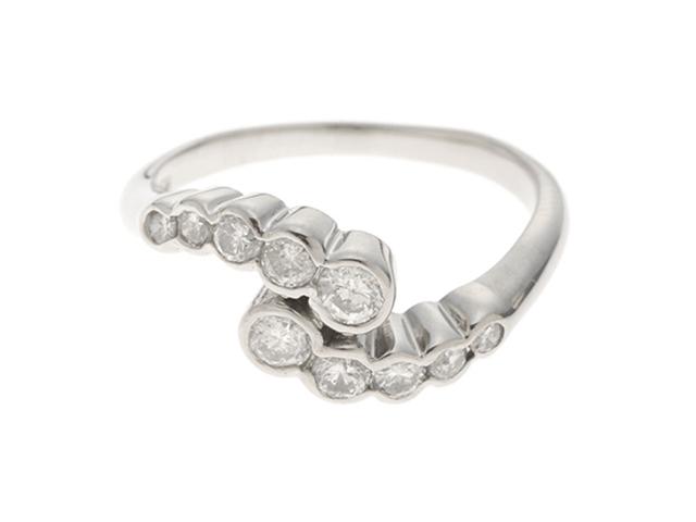 JEWELRY ノンブランドジュエリー 指輪 リング プラチナ PT850 ダイヤモンド D0.56ct  11号 【430】2145000177418