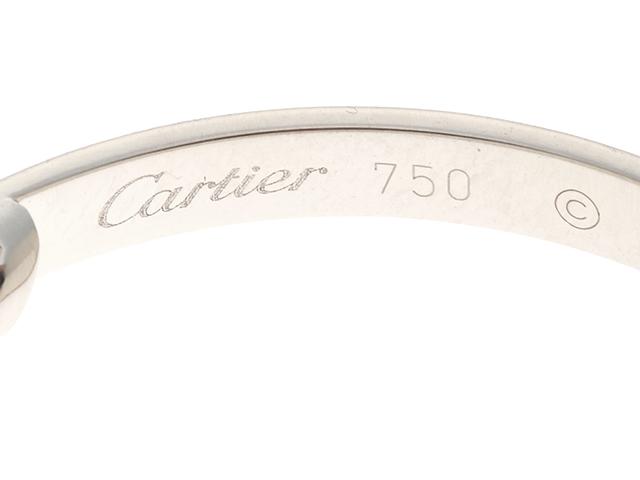 Cartier カルティエ ラブイヤリング ラブピアス K18ホワイトゴールド 12.8g B8028300 【474】 image number 3