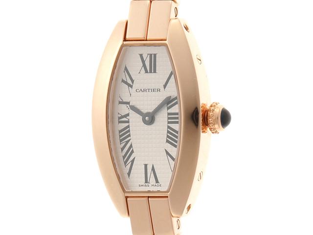 Cartier  カルティエ ミニトノーラニエール W15372X5 アイボリー PG レディース クォーツ 【432】