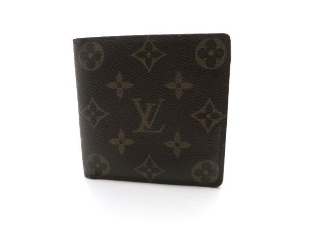 LOUIS VUITTON ルイ・ヴィトン 二つ折り財布 ポルトビエ・カルトクレディモネ モノグラム M61665 【473】