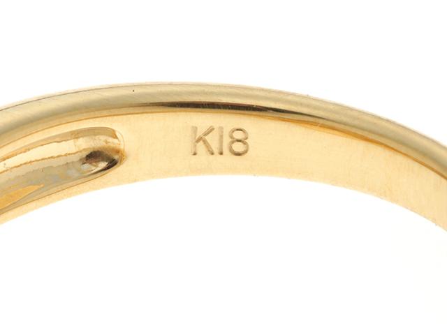 JEWELRY ノンブランドジュエリー  指輪 リング K18 イエローゴールド ゴールドパール ダイヤモンド D0.53ct  10.5号 【430】2147300279526 image number 3