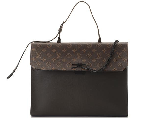 Louis Vuitton ルイ・ヴィトン ロビュスト・ブリーフケース  モノグラム/タイガ M30591【430】2147300282342