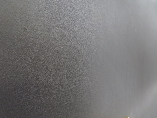 CELINE セリーヌ トラペーズ ハンドバッグ カーフ/スエード グレー/ボルドー/グリーン【473】 image number 2