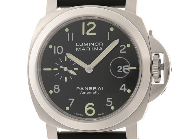 PANERAI パネライ 時計 ルミノールマリーナ PAM00164 オートマチック 自動巻き SS ステンレス ラバーベルト 【432】 2148103187629