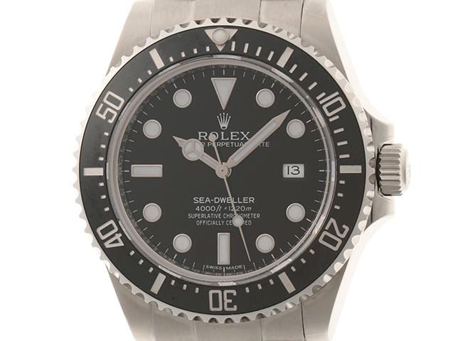 ROLEX ロレックス 時計 シードゥエラー 116600 ランダム番 カレンダー機能 黒文字盤 ステンレススチールSS 男性用時計【431】