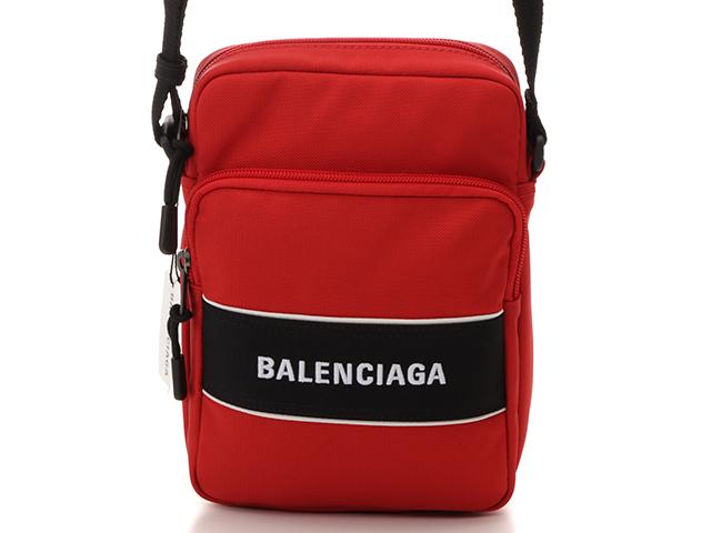 BALENCIAGA バレンシアガ ワンショルダー レッド/ブラック ナイロン 638657 【430】