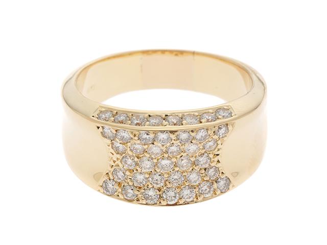 JEWELRY ノンブランドジュエリー ダイヤモンド リング K18 D1.04 11.8g #18【434】