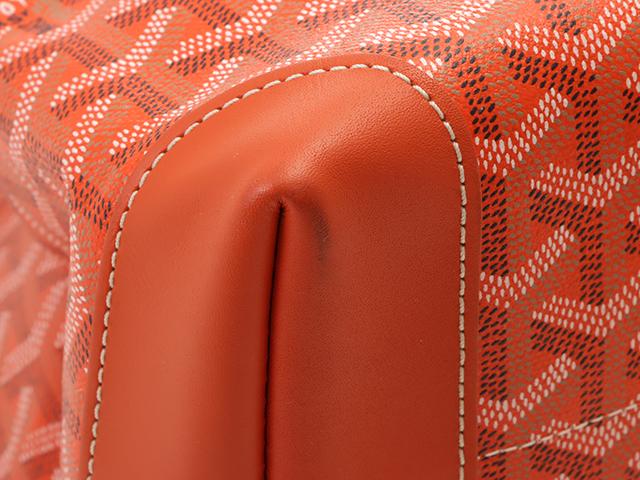 GOYARD ゴヤール ペルシャスPM オレンジ  PVC/レザー[430]2148103324420 image number 5