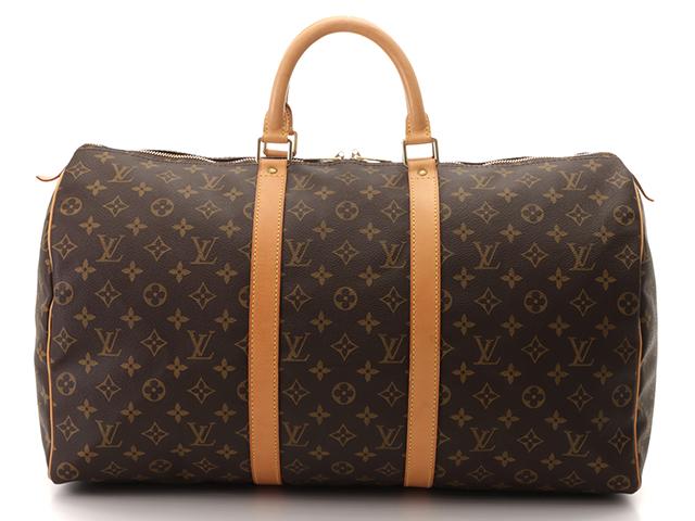 LOUIS VUITON ルイヴィトン キーポル50 ボストンバッグ 旅行バッグ モノグラム M41426 【431】