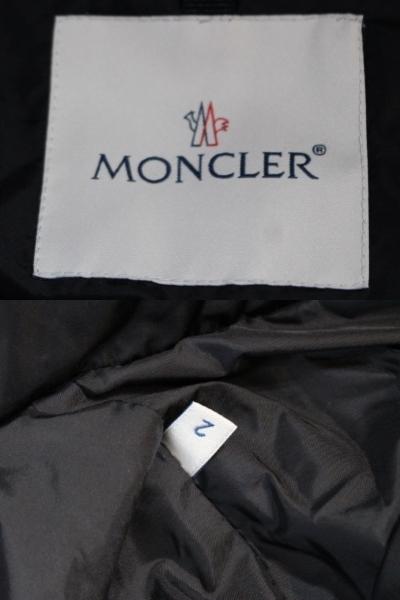 MONCLER モンクレール ダウンジャケット レディース2 約Mサイズ ブラック ナイロン TIAC 2020年 (2148103388453)【200】 image number 8