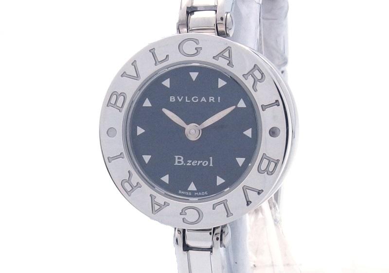 BVLGARI ブルガリ 時計 B-zero1 BZ22S クオーツ ステンレス 黒文字盤 女性用 【432】