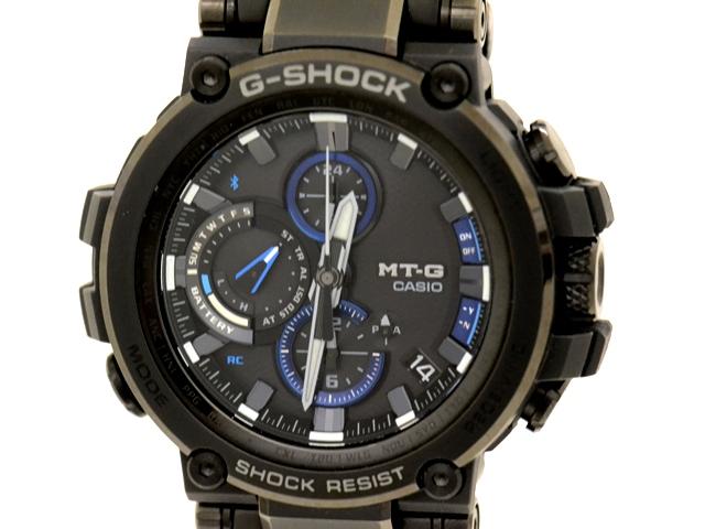 CASIO カシオ G-SHOCK MTG-B1000BD-1AJF  ジー・ショック ステンレス/樹脂 マルチバンド6/Bluetooth® 男性用タフソーラー発電電波時計【473】