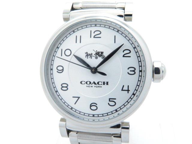 COACH コーチ ブレス時計 CA72.7.14.1082 クォーツ SS 【205】