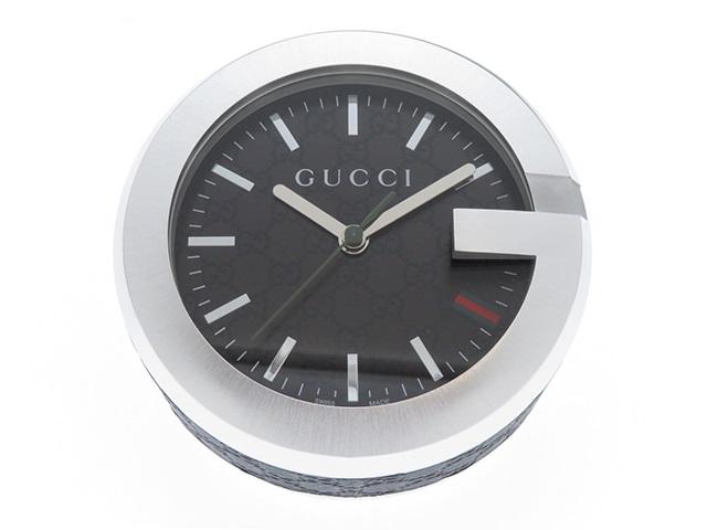 GUCCI グッチ 置時計 210 テーブルクロック G 【430】2144000168150