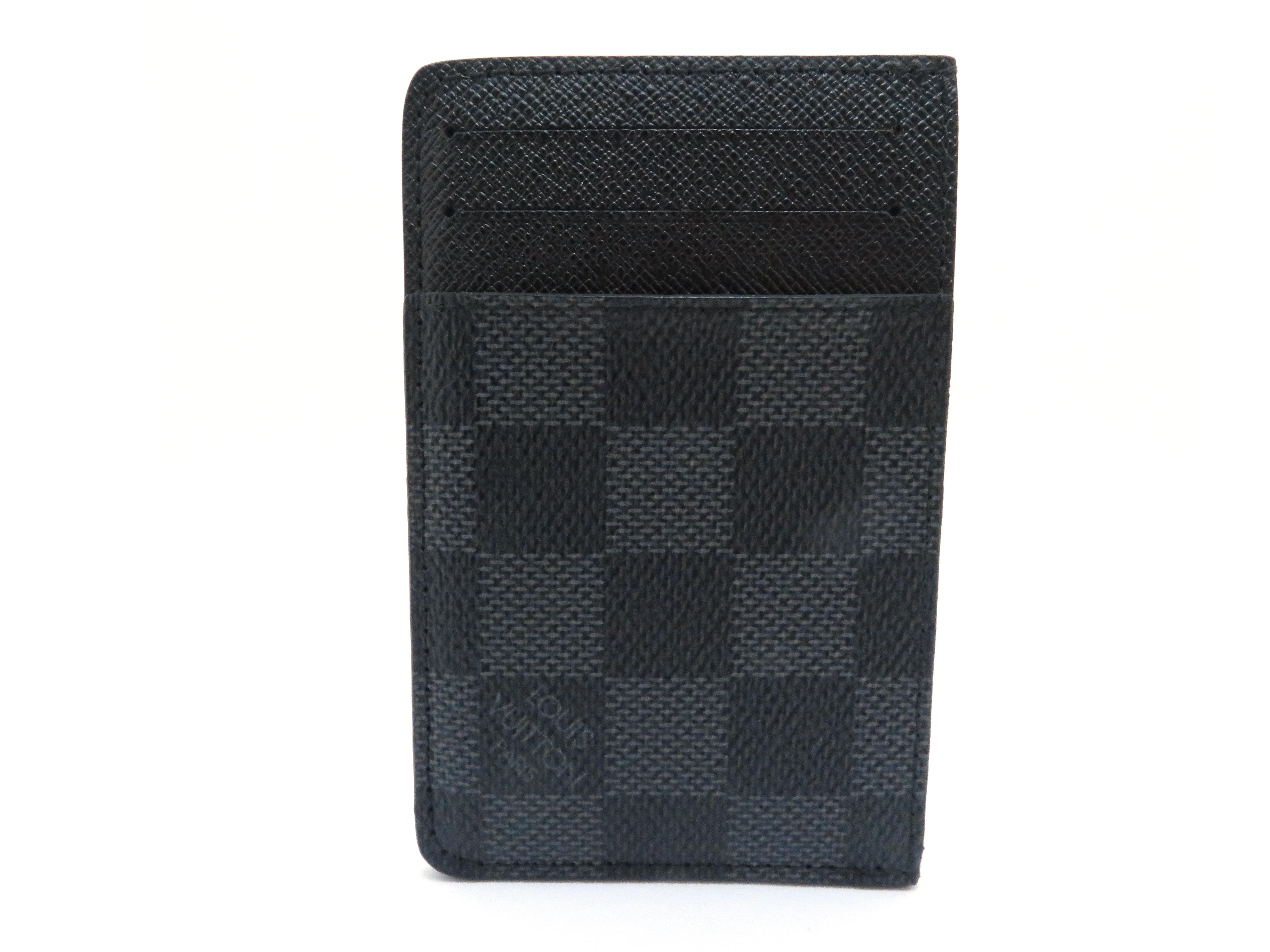 LOUIS VUITTON ネオ・ポルトカルト N62666 ダミエグラフィット カードケース 【205】