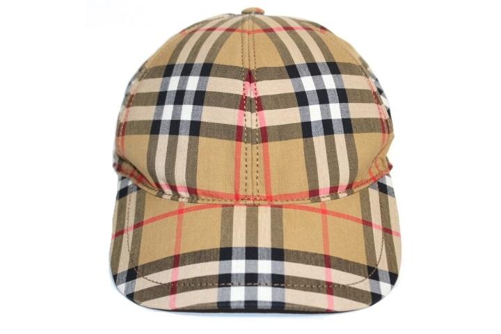 BURBERRY  バーバリー 帽子 ノヴァチェック ベースボールキャップ ベージュ コットン 4073689 (2143200364768)【200】