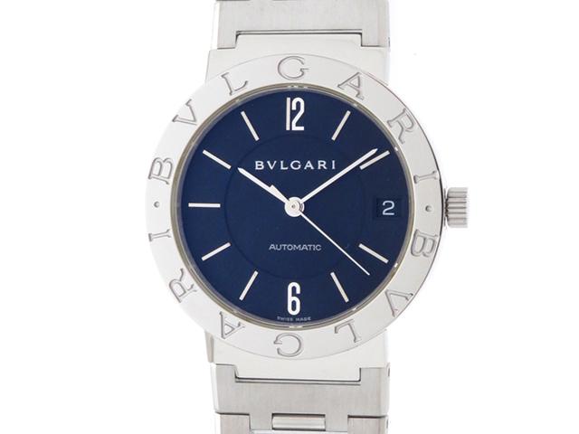 BVLGARI ブルガリ 時計 ブルガリブルガリ BB33AUTO ステンレス ブラック オートマティック 【430】 2148103313134