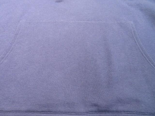 GUCCI グッチ パーカー ウェブ&GUCCI ラベル付き スウェット シャツ メンズ L ブルー コットン 【432】 image number 4