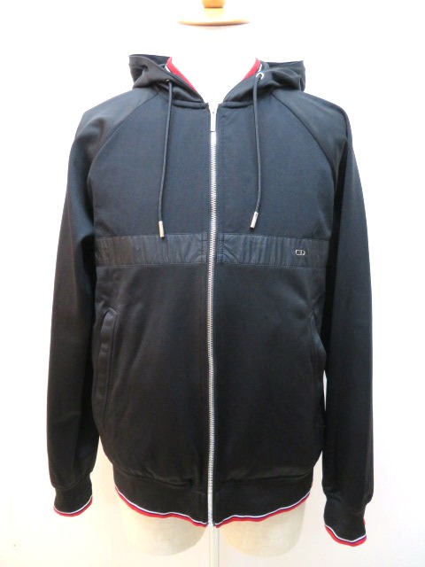 Dior Homme ディオール オム ブルゾン メンズ XL ブラック ナイロン 【432】