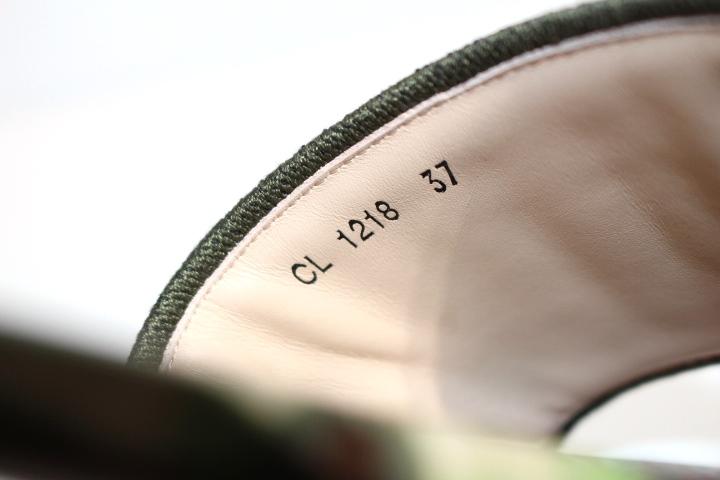 Dior ディオール ミュール サンダル DWAY レディース37 約23.5cm マルチ パープル 刺繍 2148103383212【200】 image number 6