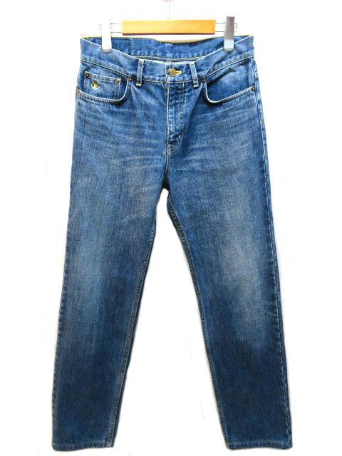 LOUIS VUITTON ルイヴィトン デニム パンツ メンズ 28 ブルー コットン 【200】