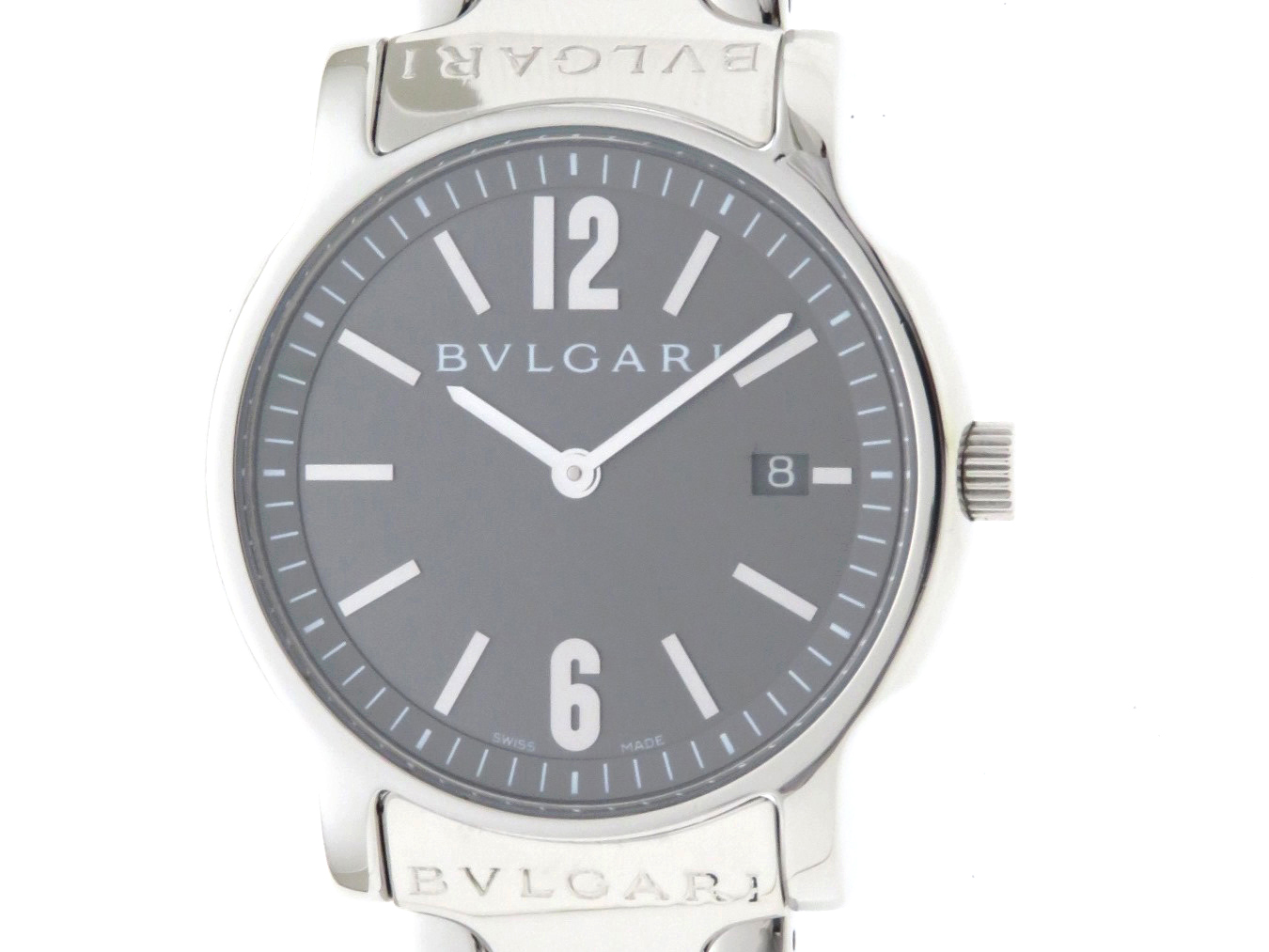 BVLGARI ブルガリ ソロテンポ クォーツ メンズ ST35S 【432】
