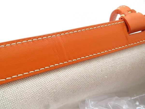 GOYARD ゴヤール ペルシャスPM オレンジ  PVC/レザー[430]2148103324420 image number 8