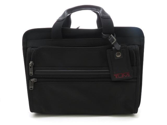 TUMI トゥミ バッグ ビジネスバッグ ブラック ナイロン カーフ【473】