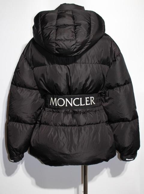 MONCLER モンクレール ダウンジャケット レディース2 約Mサイズ ブラック ナイロン TIAC 2020年 (2148103388453)【200】 image number 3