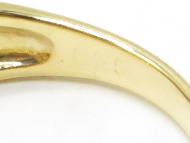 JEWELRY ノンブランドジュエリー イエローゴールド ダイヤモンド ピンクサファイヤ K18 PS D0.15 3.2g 9.5号 【410】2147400183143 image number 3
